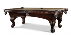 Brown and Taupe 8 Foot Pool Table - Marietta