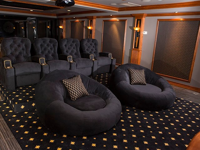 Man Cave Furniture - theater seating