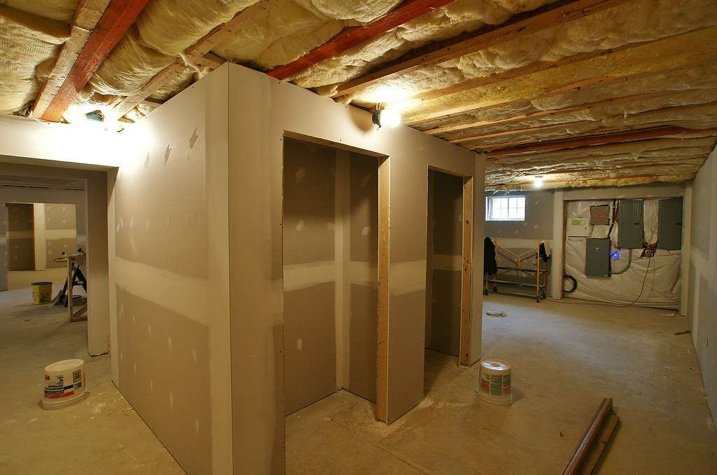 DIY Man Cave - basement