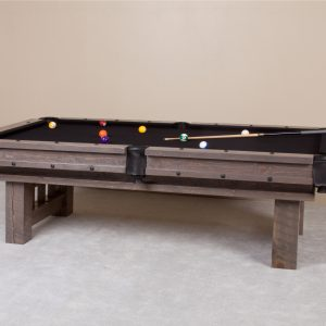 Barnwood Cheyenne Weathered pool table