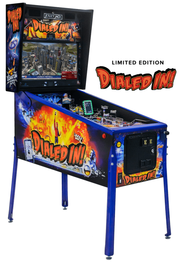 Dialed In Pinball Limited Edition