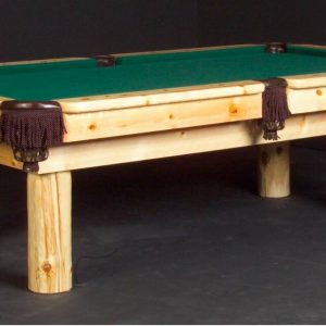Norway Log Pool Table