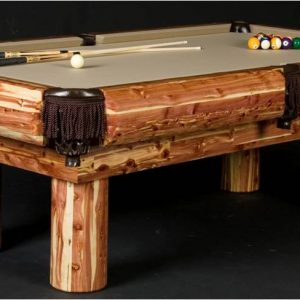 Red Cedar Pool Table