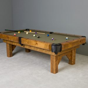 Timber Lodge Barnwood Pool Table